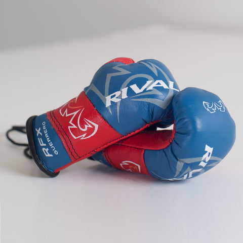 Rival Leather Mini Boxing Gloves