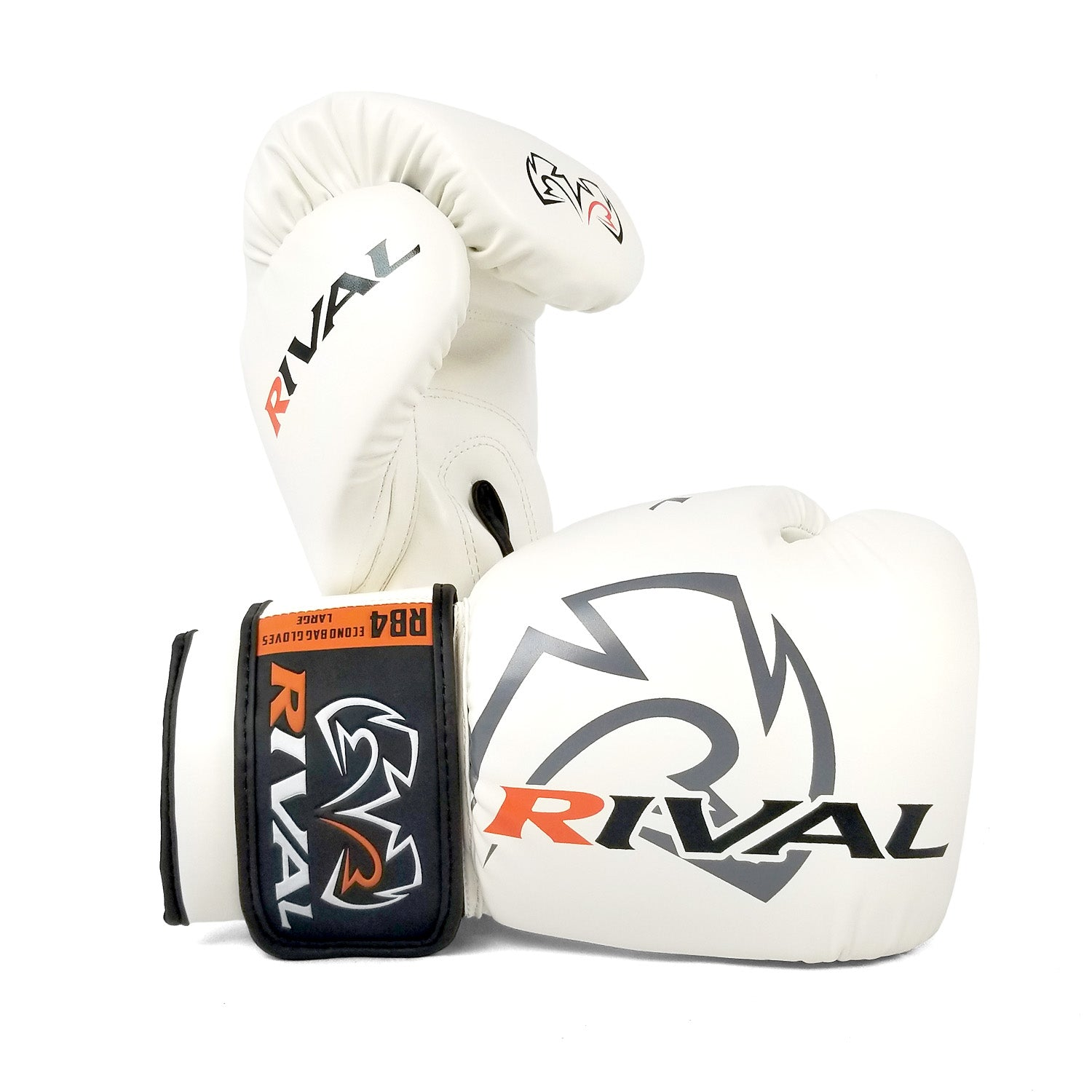 Rival RB4 Boxing Bag Gloves Econo White