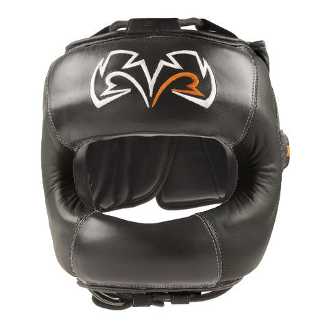 Rival Guerrero Facesaver Headgear Black