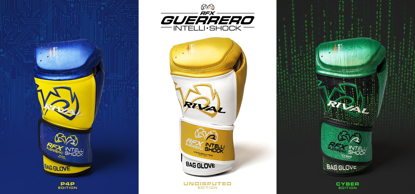 Rival RFX-Guerrero Intelli-Shock Special Editions
