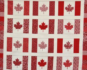 Oh Canada Flag Panel