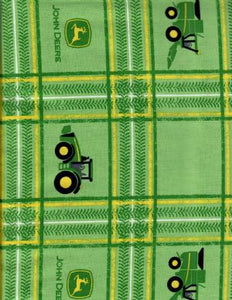 JD Tractor Plaid
