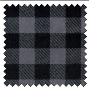 Lumberjack Flannel Grey Black