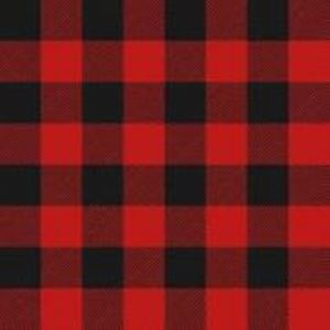 Lumberjack Flannel Red Black