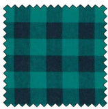 Lumberjack Flannel Teal Black
