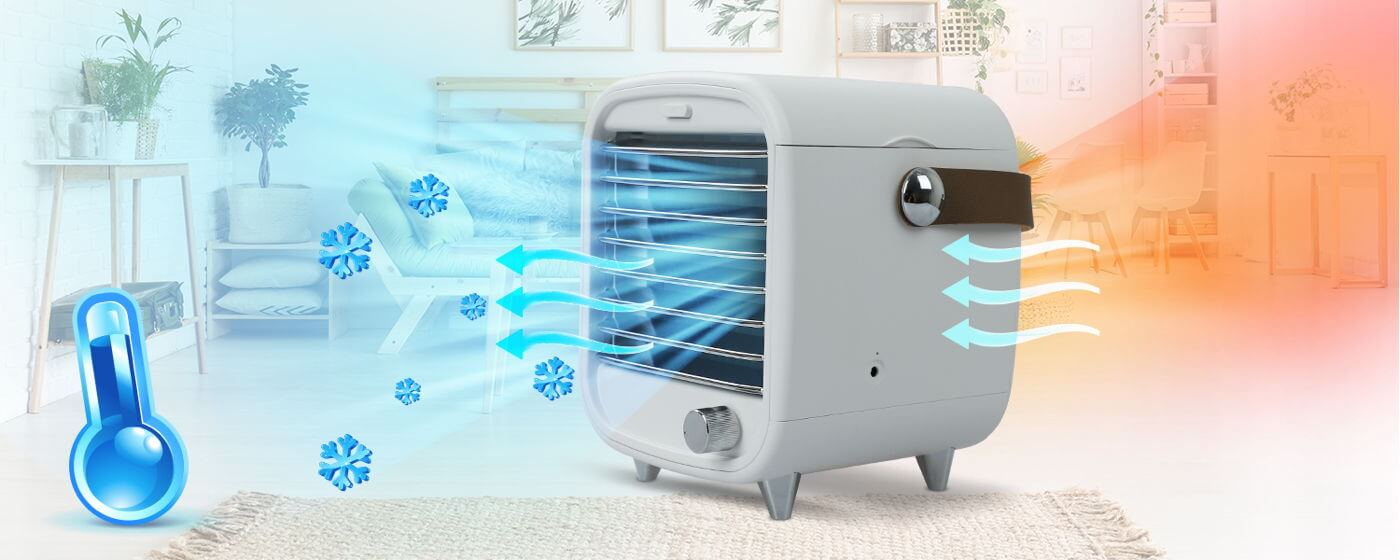 Blast Auxiliary Portable AC - Cooling