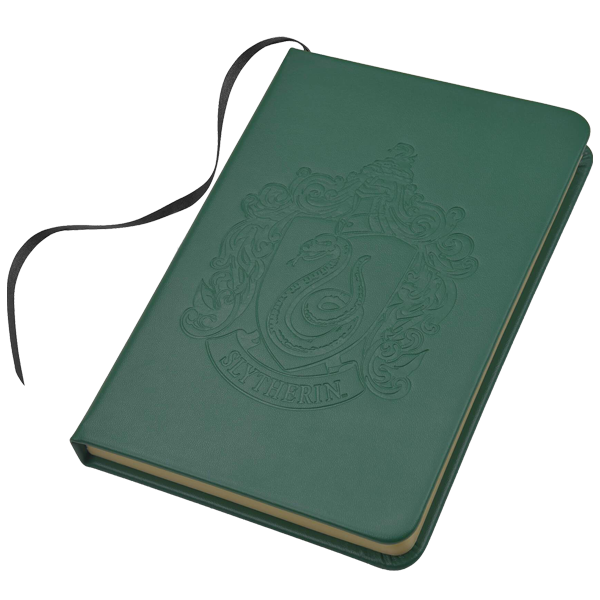 Slytherin Embossed Notebook