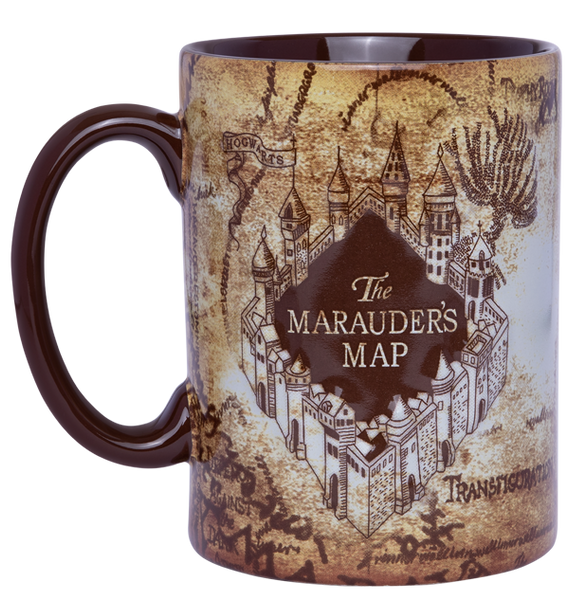 Maruader's Map Molded Mug