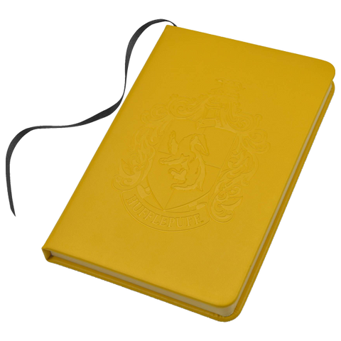 Hufflepuff Embossed Notebook