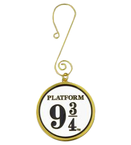 Platform 9 3/4 Enamel Sign Ornament