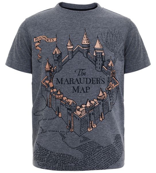 Kids Marauders Map T-Shirt