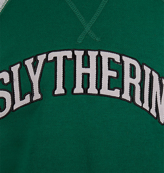 Kids Slytherin Crew Sweatshirt