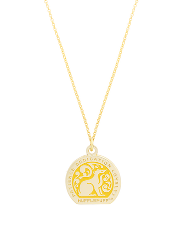 House Necklace Hufflepuff