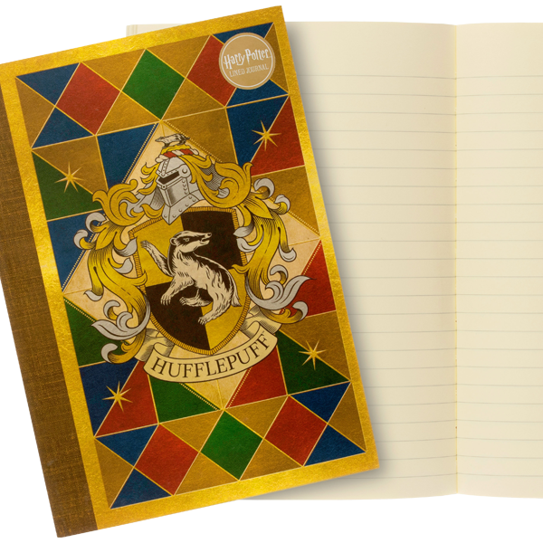 Hufflepuff House Crest Notebook