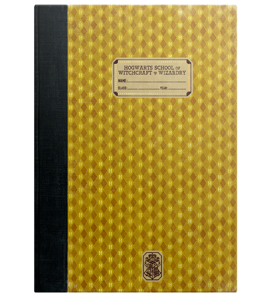 Hufflepuff Replica Exercise Book