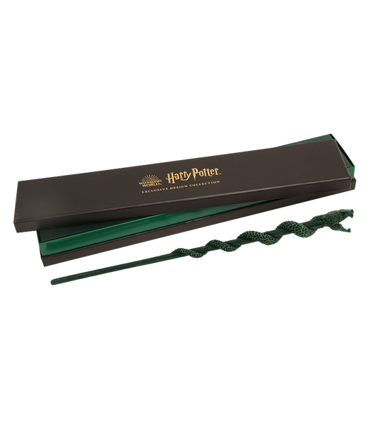 Slytherin Mascot Wand with box