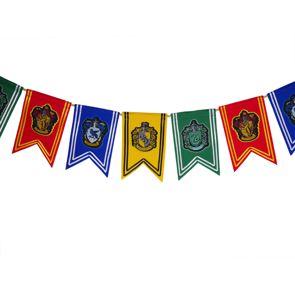 House Crest Pennant Garland