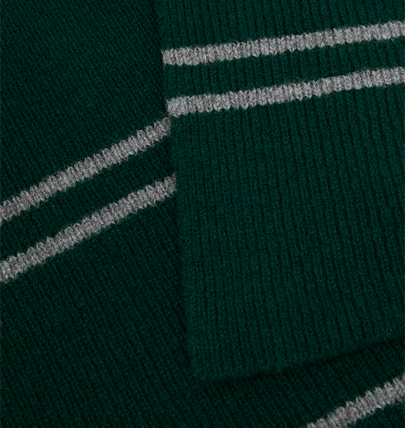 Authentic Lochaven Slytherin Narrow Stripe Scarf