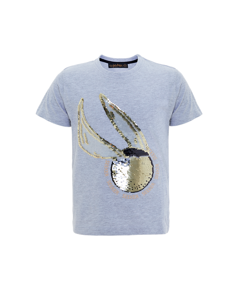 Kids Golden Snitch Sequin T-Shirt