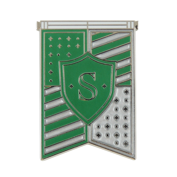Slytherin House Banner Enamel Pin