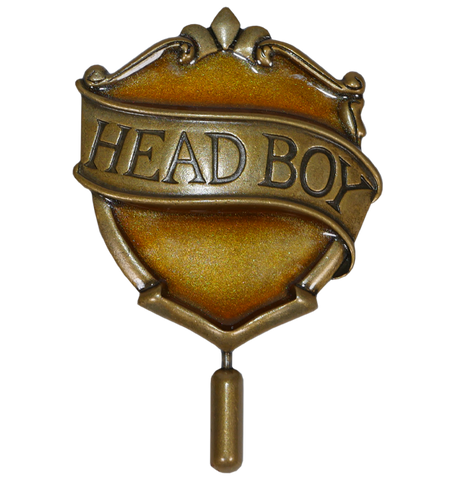 Hufflepuff Head Boy Pin