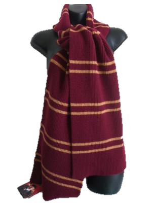 Authentic Lochaven Gryffindor Narrow Stripe Scarf