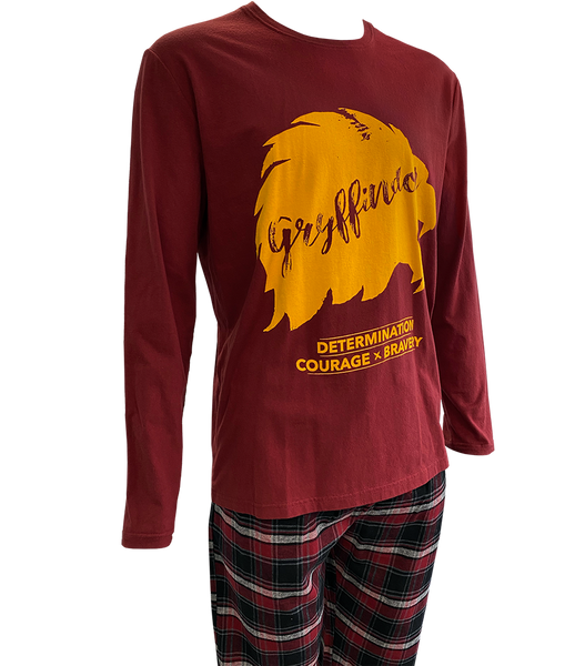 Gryffindor Brushed Chequered Pyjamas