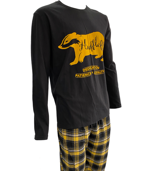 Hufflepuff Brushed Chequered Pyjamas