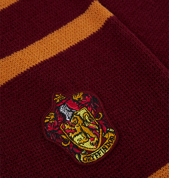 Gryffindor Badged Scarf