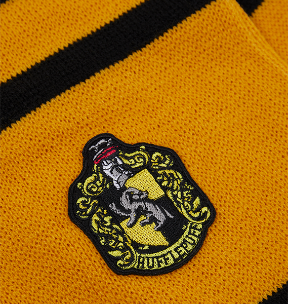 Hufflepuff Badged Scarf