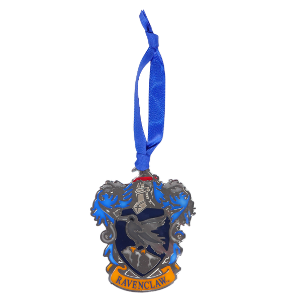 Ravenclaw Crest stained Glass Ornament