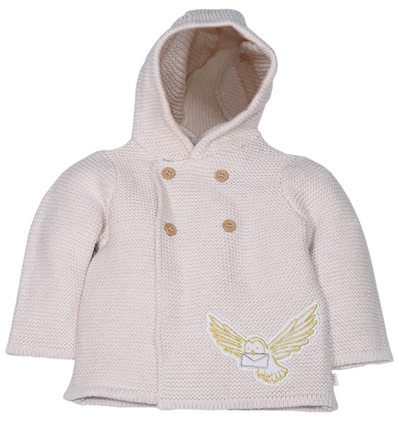 Infant Unisex Hedwig Knitted Cardigan
