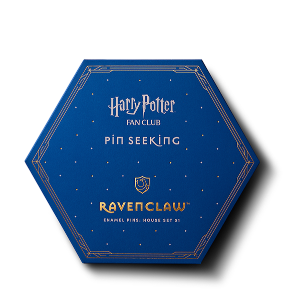 Second Edition Ravenclaw Enamel Pins Set
