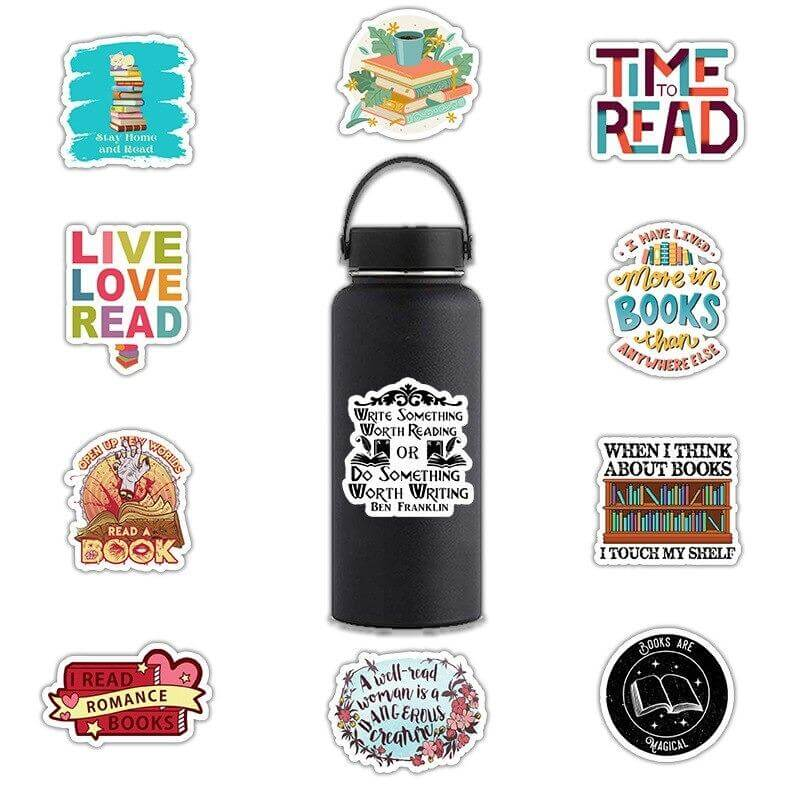 Read and Love Stickers Pack (100 PCs)
