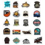 Hiking Style Stickers Pack - CoolSticker