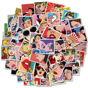 Special Bundle: Pop Art Stickers Bundle (100PCS)