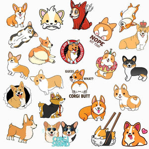 Corgi Stickers Pack - CoolSticker