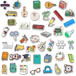 School Stationery Stickers Pack - CoolSticker