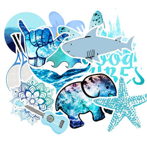 Special Bundle: Ocean Theme Stickers Bundle (100 PCS)