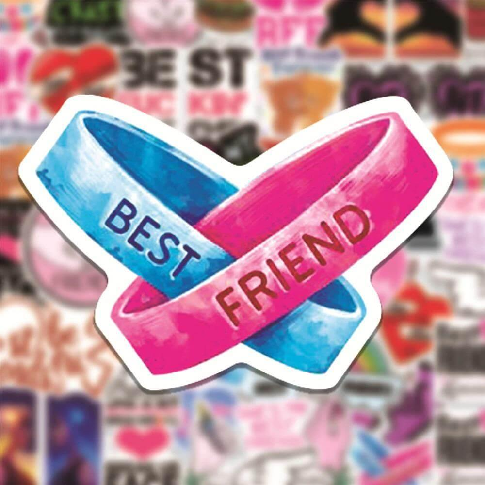 Best Friend Quotes Stickers Pack - CoolSticker