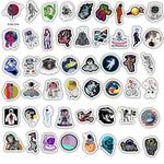 Outer Space Astronaut  Stickers Pack - CoolSticker