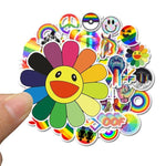 Rainbow Style Stickers Pack - CoolSticker