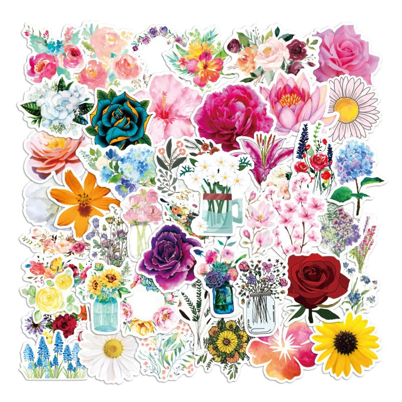 Plants and Flowers Stickers Pack