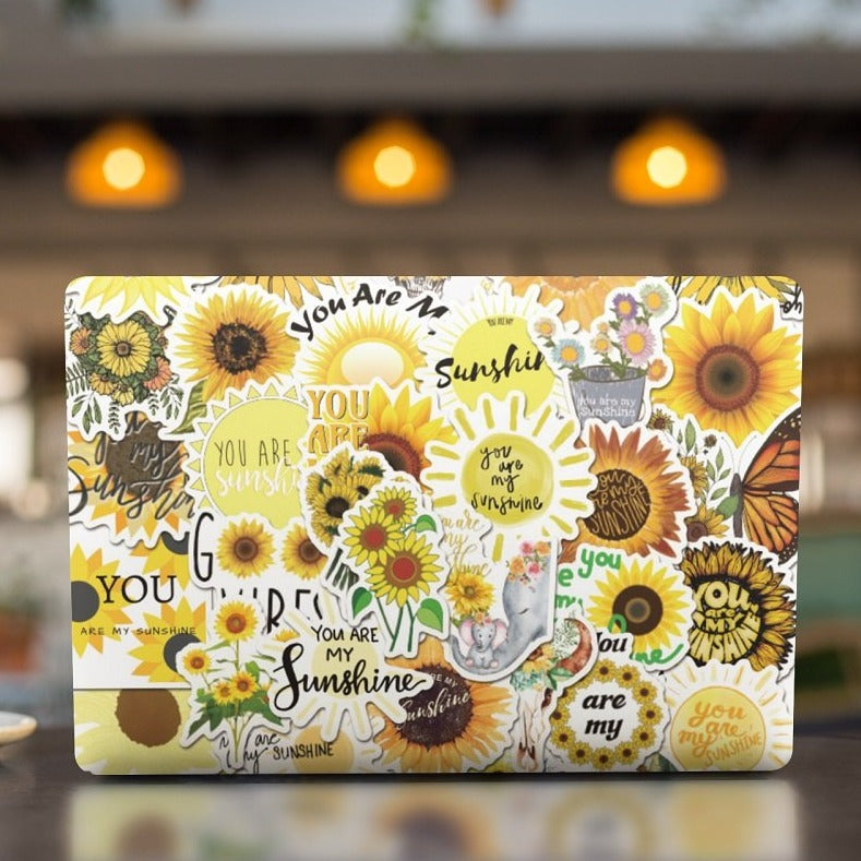 Sunflower You Are My Sunshine Stickers Pack