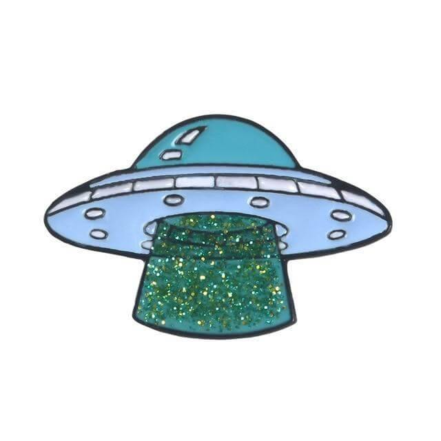 Alien UFO Enamel Pins Collection - CoolSticker