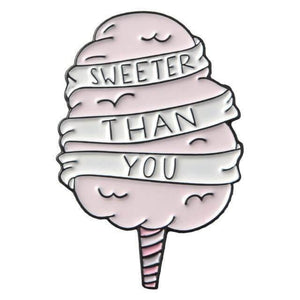 Candy Quotes Enamel Pin Collection - CoolSticker