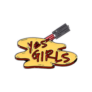 Yes Girl Enamel Pins Collection