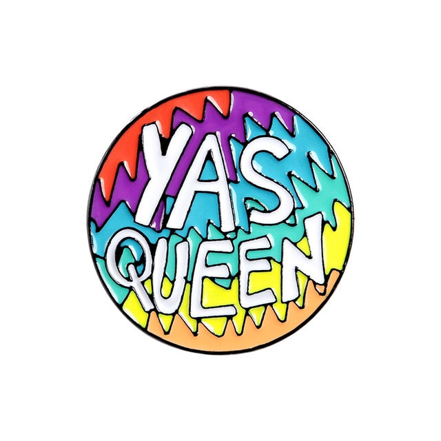 Yes Girl Enamel Pins Collection - CoolSticker