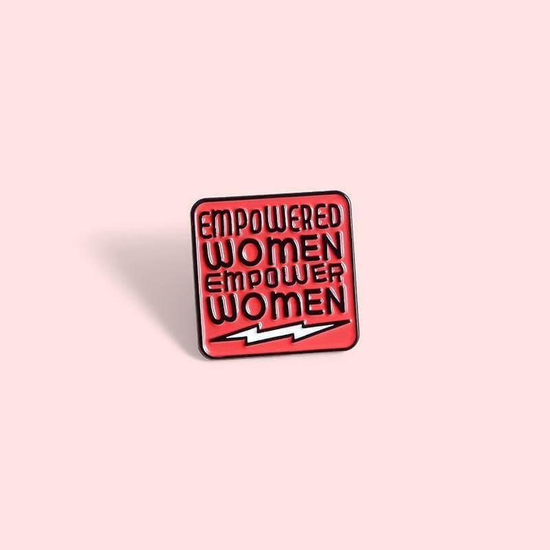 Feminist Enamel Pin - CoolSticker
