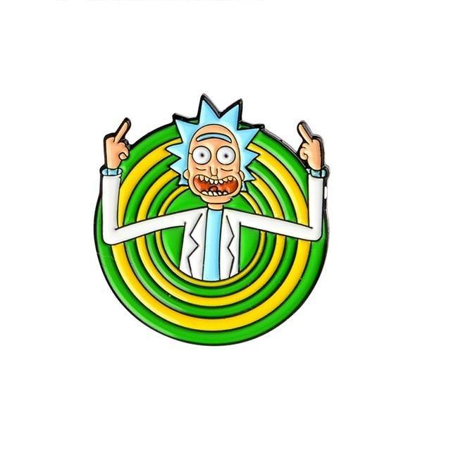 Rick and Morty Scientist Enamel Pins Collection
